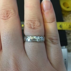 Jewelry - Vintage sterling wedding band